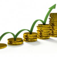 график, рост, деньги